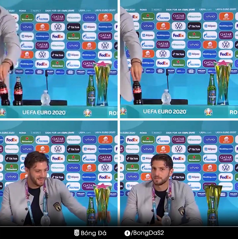 Ronaldo thích uống nước lọc và loạt ảnh hài hước mùa Euro 2020