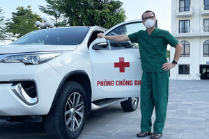 Chủ tịch mạng di động hai lần viết đơn tình nguyện vào tâm dịch Bắc Giang