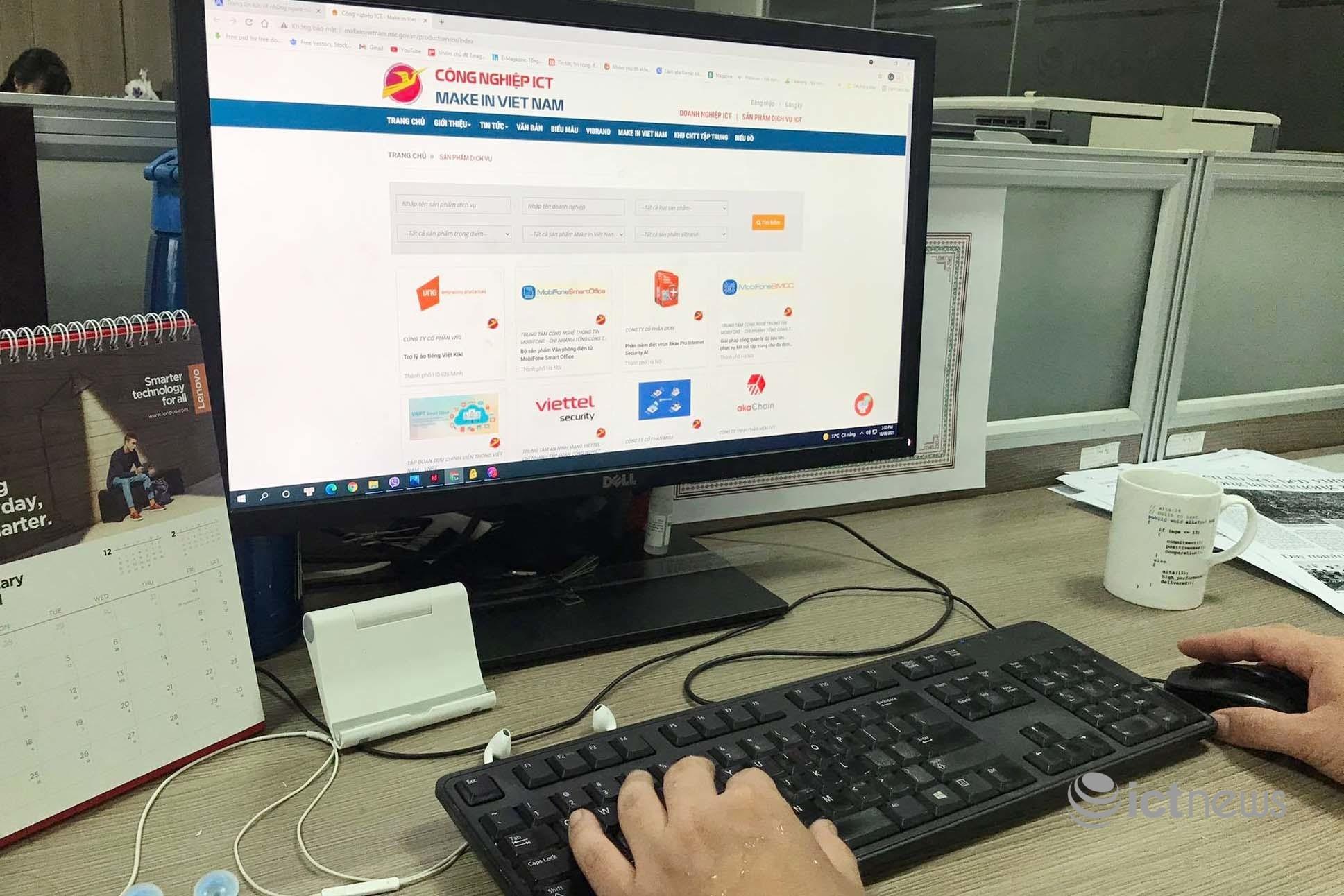 Công bố hệ thống cơ sở dữ liệu công nghiệp ICT Make in Vietnam