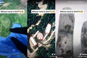 2 triệu lượt xem đoạn video về bàn tay khổng lồ ở Đà Nẵng