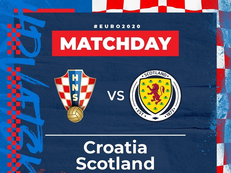 Xem bóng đá Euro 2020 trực tuyến: Croatia vs Scotland