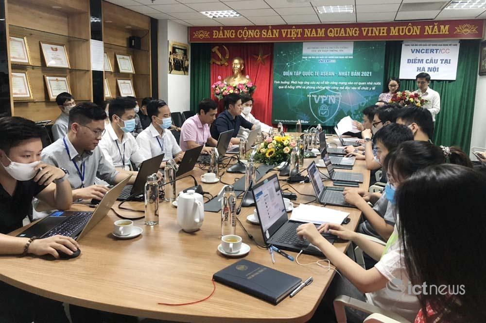 Việt Nam cùng 10 nước diễn tập ứng cứu sự cố tấn công ransomware vào tổ chức y tế
