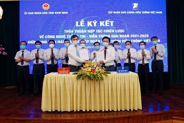 VNPT đồng hành cùng Nam Định hiện thực hóa các mục tiêu số hóa toàn diện