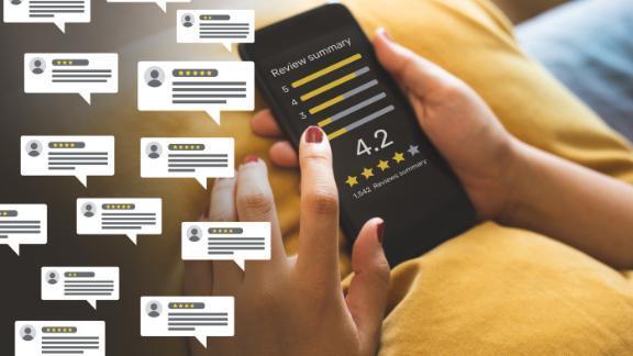 Anh điều tra đánh giá ảo trên Amazon, Google
