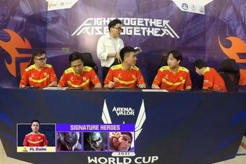Đương kim vô địch Team Flash bị loại ngay từ vòng bảng AWC 2021