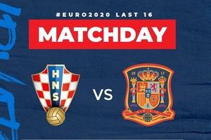Xem bóng đá Euro 2020 trực tuyến: Croatia gặp Tây Ban Nha