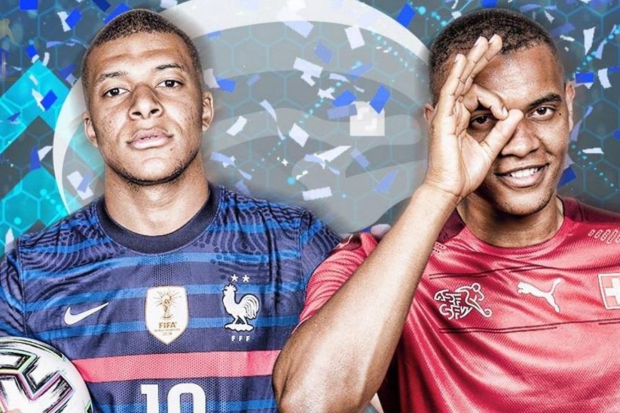 Xem bóng đá Euro 2020 trực tuyến: Pháp gặp Thụy Sỹ
