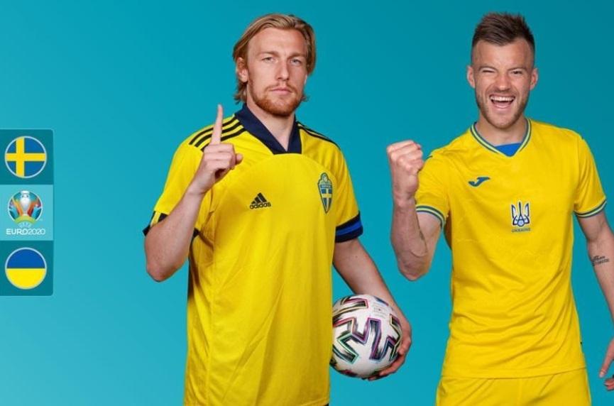 Xem bóng đá Euro 2020 trực tuyến: Thụy Điển vs Ukraine
