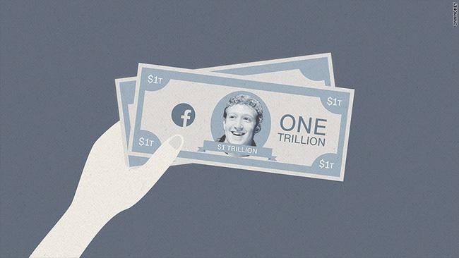 Facebook trở thành công ty nghìn tỷ đô