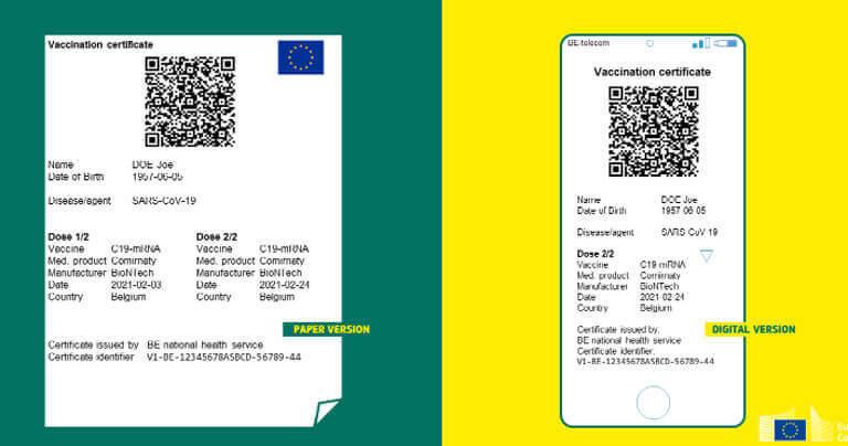 Châu Âu chính thức áp dụng hộ chiếu vắc xin điện tử