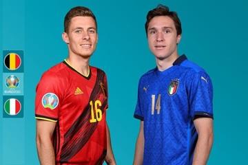 Xem bóng đá Euro 2020 trực tuyến: Bỉ vs Italia
