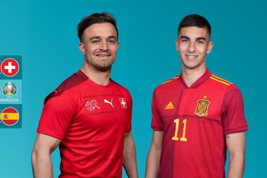 Xem bóng đá Euro 2020 trực tuyến: Thụy Sỹ gặp Tây Ban Nha