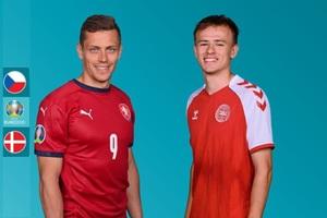 Xem bóng đá Euro 2020 trực tuyến: Séc gặp Đan Mạch