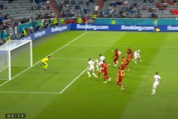 Bị VAR từ chối bàn thắng, Italia vẫn chiến thắng trước Bỉ