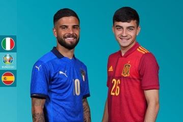 Xem bóng đá Euro 2020 trực tuyến: Italia gặp Tây Ban Nha
