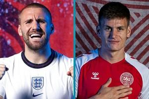 Xem bóng đá Euro 2020 trực tuyến: Anh gặp Đan Mạch