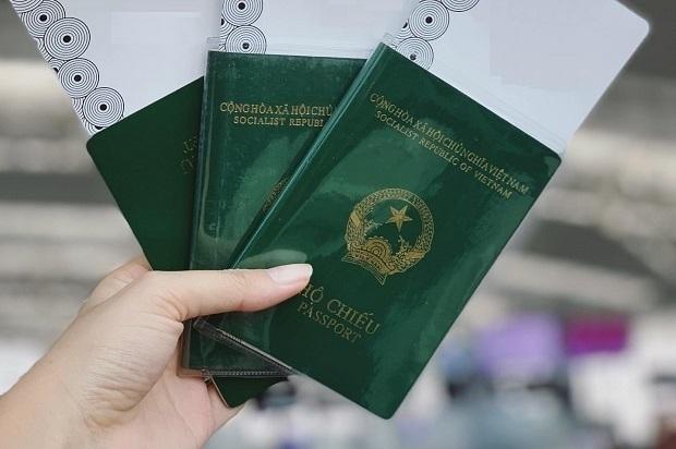 Hướng dẫn làm hộ chiếu gắn chip điện tử