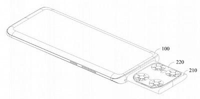 Ý tưởng sáng chế điện thoại thông minh tích hợp flycam mini