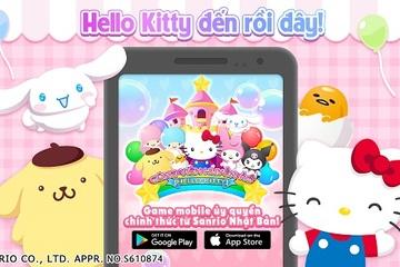 Hello Kitty và các ngôi sao Sanrio đã đến Việt Nam