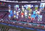 Màn trình diễn công nghệ độc đáo trong lễ bế mạc Euro 2020