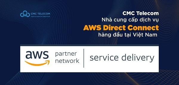 Việt Nam đã có đối tác triển khai dịch vụ kết nối cao cấp của AWS