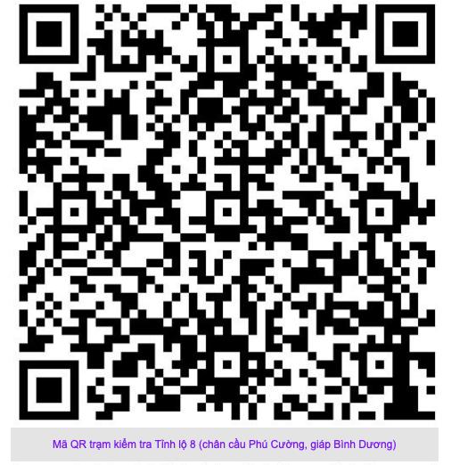 TP.HCM: Quét mã QR tại các các trạm kiểm soát để tránh ùn ứ