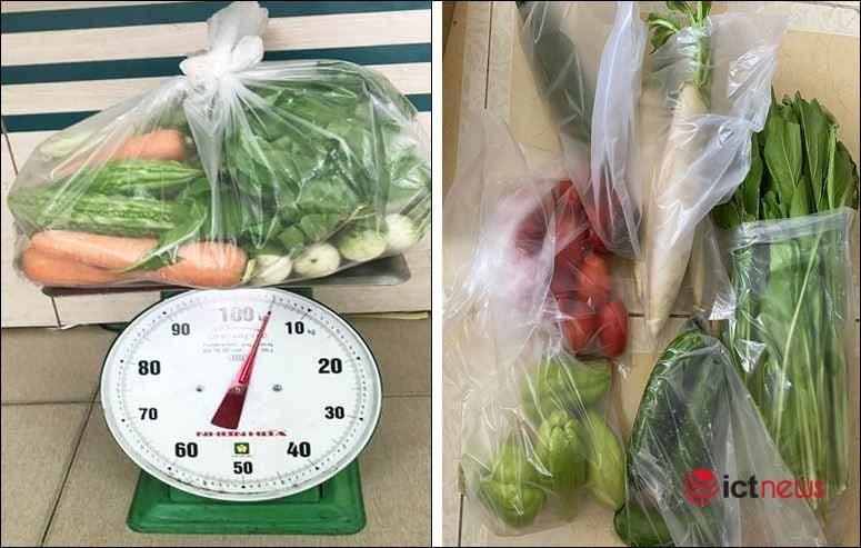 Sàn Vỏ Sò đã cung ứng gần 100 tấn rau, củ tươi cho người dân TP.HCM