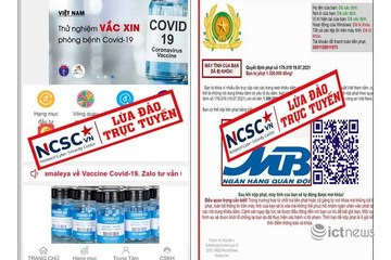 Xuất hiện nhiều thủ đoạn lừa đảo mới trên mạng trục lợi từ dịch Covid