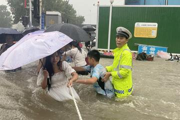 Cứu trợ dân vùng lũ Trung Quốc bằng công nghệ