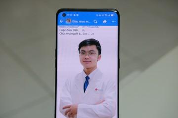 Y bác sĩ lên mạng tư vấn sức khoẻ cho người dân trong mùa dịch