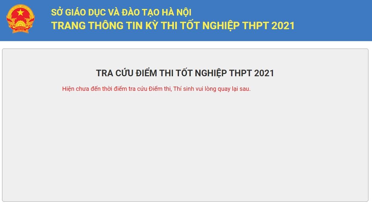 thi THPT,tra cứu,Hà Nội
