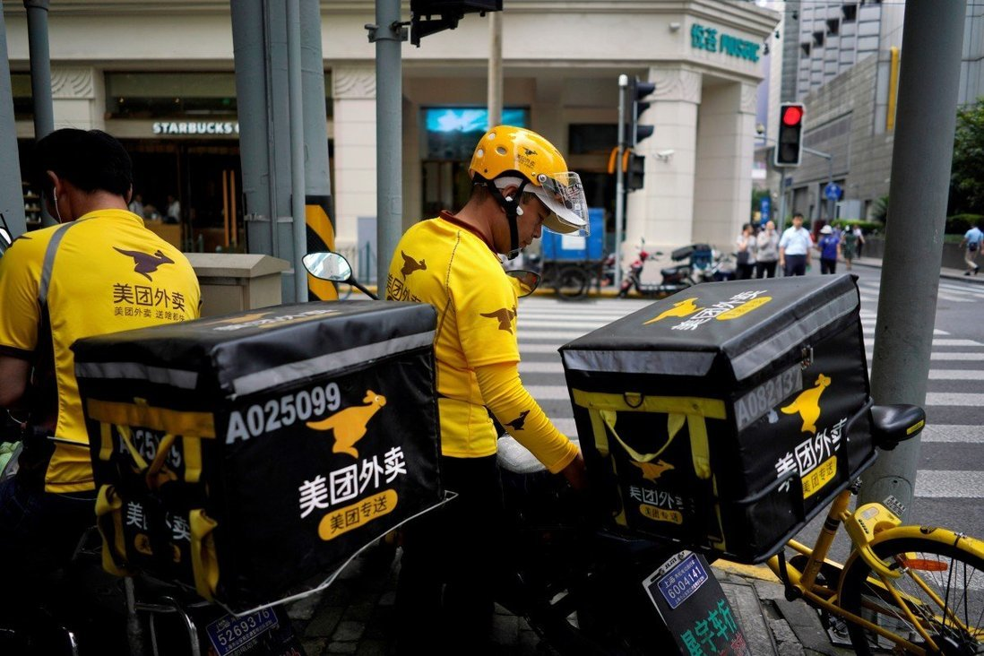 Trung Quốc bảo vệ tài xế giao đồ ăn