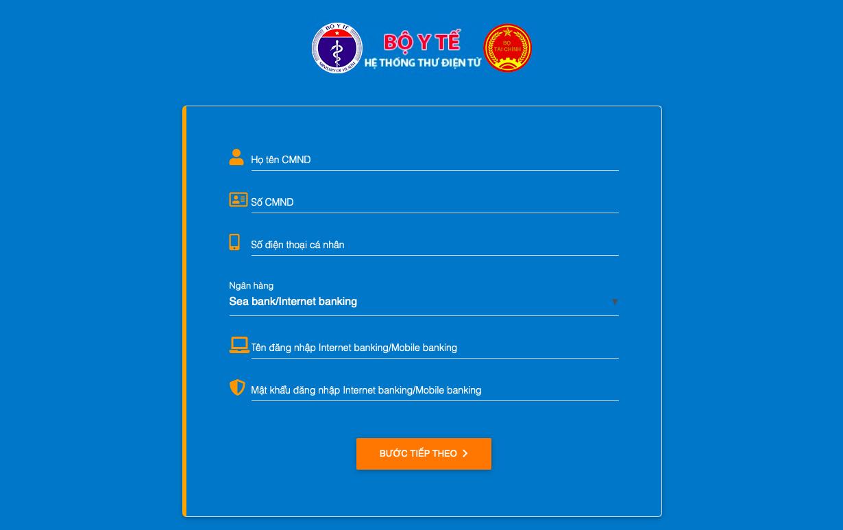 Giả mạo website đăng ký tiêm chủng của Bộ Y tế để lừa đảo