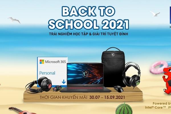 Trải nghiệm học tập và giải trí tuyệt đỉnh với Laptop MSI