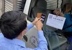 Chốt kiểm dịch không kiểm tra xe vận chuyển hàng có Giấy nhận diện gắn QR Code còn hạn
