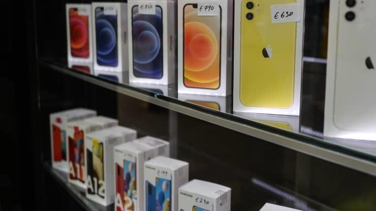 Thiếu hụt chip bắt đầu ảnh hưởng tới sản xuất smartphone