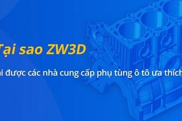 Phần mềm ZW3D tăng hiệu quả thiết kế phụ tùng ô tô