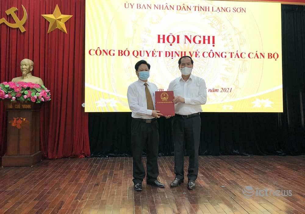 Ông Nguyễn Khắc Lịch đảm trách chức vụ Giám đốc Sở TT&TT Lạng Sơn từ ngày 1/8