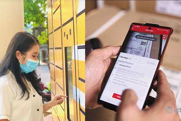 Hai giải pháp ứng dụng công nghệ hỗ trợ bưu tá hạn chế tiếp xúc thời Covid
