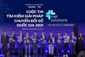 Viet Solutions 2021 gia hạn nộp hồ sơ dự thi đến ngày 15/9