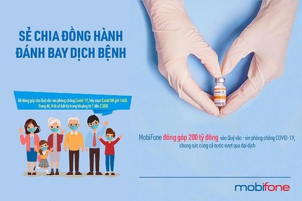 MobiFone giảm giá cước, hỗ trợ dịch vụ viễn thông trong thời gian thực hiện giãn cách xã hội