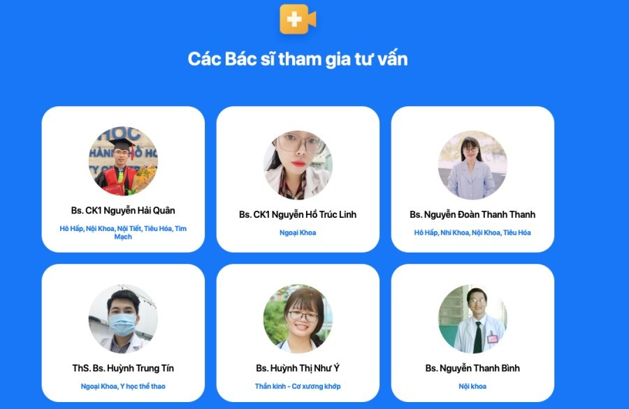 Thêm kênh tư vấn sức khoẻ miễn phí mùa dịch