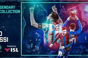 Sắp bán bộ sưu tập tranh số NFT của siêu sao Messi