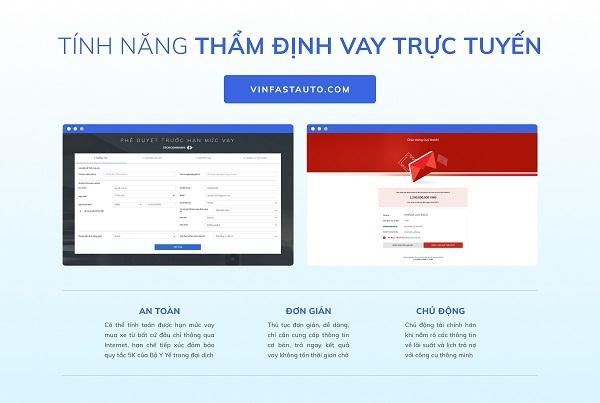 Vinfast cung cấp giải pháp mua ô tô trực tuyến đầu tiên tại Việt Nam