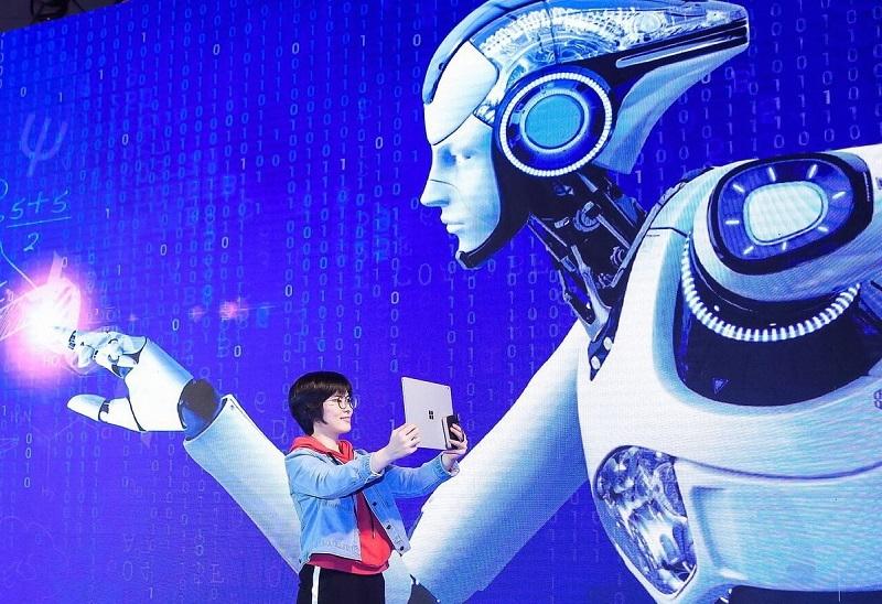 Trung Quốc vượt Mỹ về nghiên cứu AI