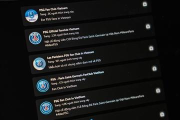 Fanpage PSG mọc lên như nấm sau tin Messi gia nhập