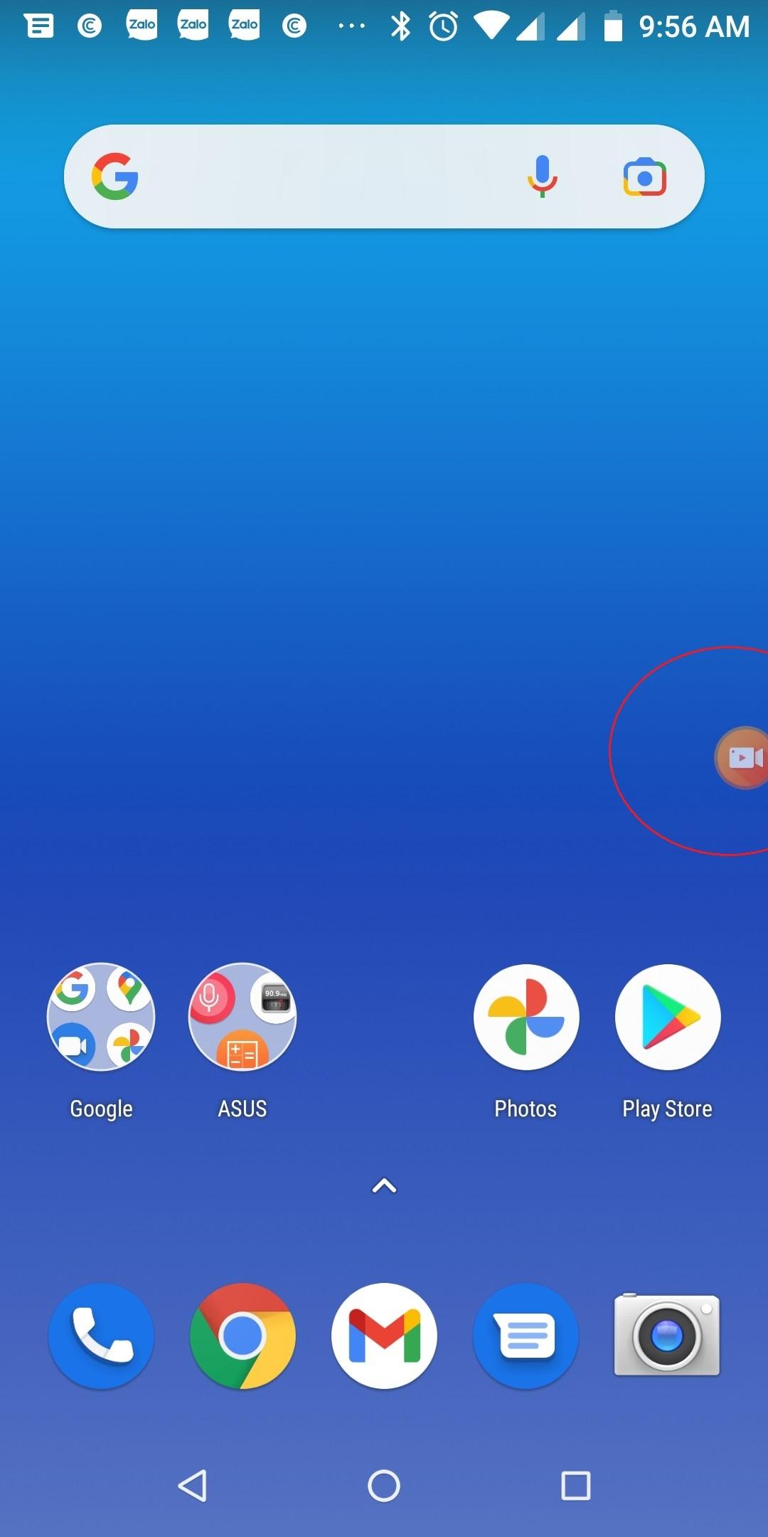 Cách quay màn hình điện thoại Android