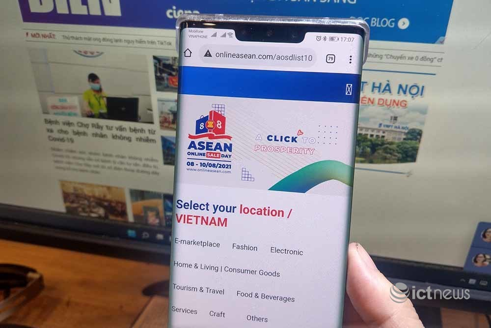 9.300 người dùng tham gia Ngày mua sắm trực tuyến ASEAN 2021