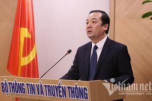 Bộ TT&TT tạm thời phân công nhiệm vụ cho Thứ trưởng Phạm Đức Long