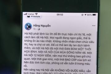 """Phạt chủ Facebook """"Hằng Nguyễn"""" vì thông tin gây hoang mang về phòng chống Covid"""